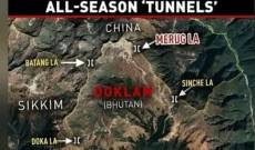 China Building New 'Tunnels' For Winter At Border Hotspot Doklam
