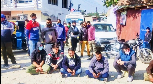 Public showed resentment by hitting the streets over the misery of Sarkoot Dal