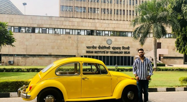 Young Bhaderwah engineer converts 1948 model Volkswagen into electric car
