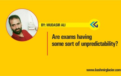 Are exams having some sort of unpredictability?