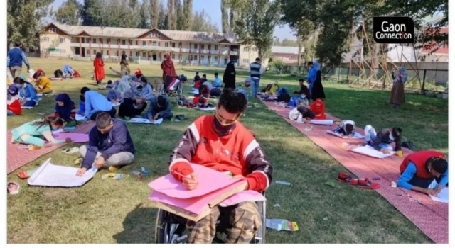 Left Behind: Disabled children in Kashmir struggle to keep up with their studies amid pandemic