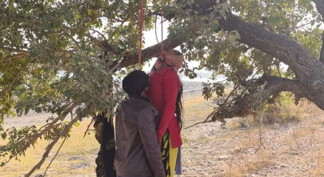 Man, woman found hanging with tree in Akhnoor