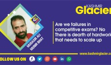 Are we failures in competitive exams? No