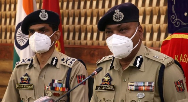 Stone-pelting incidents in J&K dropped by 87.13 pc in 2020: DGP Dilbag Singh