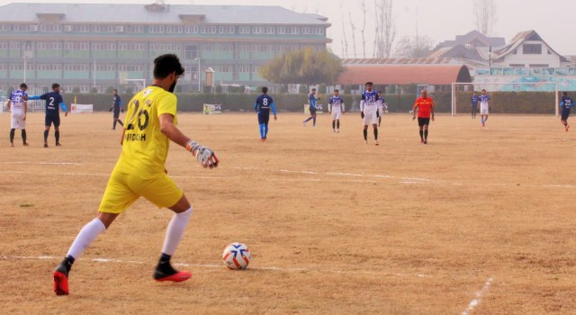 GREEN VALLEY WINTER FOOTBALL Cup Innaugrated.