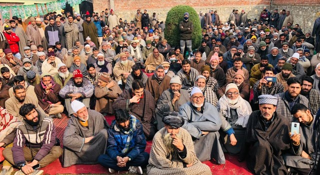 PDP felicitates newly elected DDC candidates in Bandipora