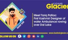 Meet Tariq Patloo: First Kashmiri Designer of water Ambulance rowing over Dal Lake