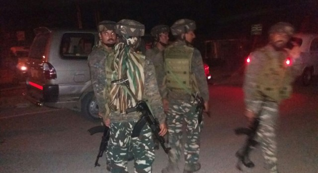 Forces launch nocturnal CASO in Budgam village