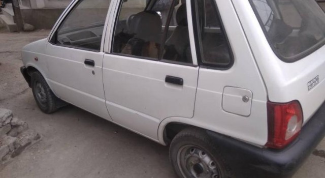 Panic in Narbal area after suspicious Maruti car ignores forces signal