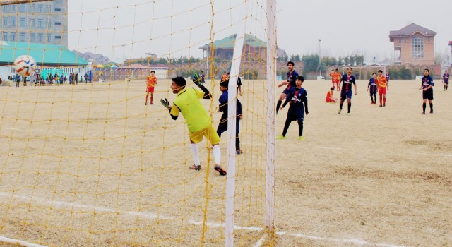 Green Valley Winter Cup Football Tournament Held In Srinagar