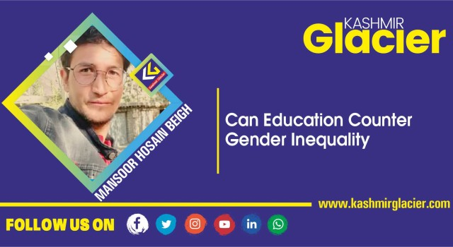 Can Education Counter Gender Inequality