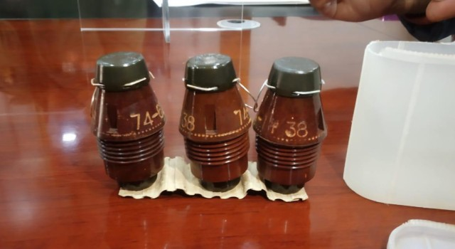 Bla Police claims recovery of 'unique' Chinese grenade from arrested TRF OGW