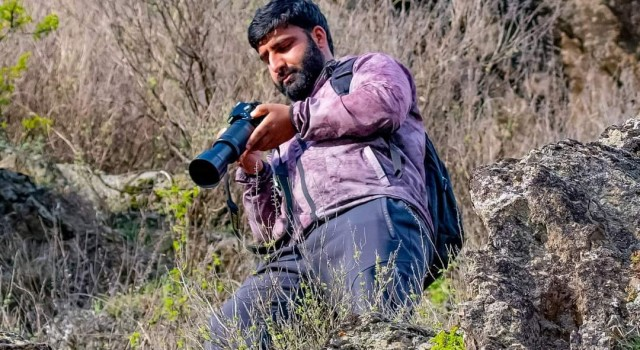 Meet Wajid Lone, a known international wildlife photographer from Ganderbal
