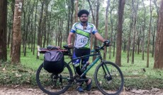 22-Year-Old Student is Cycling From Kerala to Kashmir to Support Ongoing Farmer's Protest
