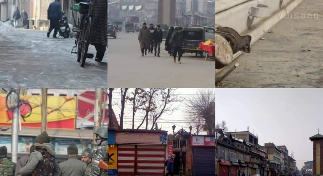 Massacre Anniversary: Shutdown In Kashmir's Commercial Hub