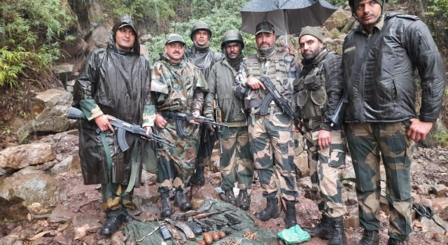 Militant hideout busted in Poonch Mandi