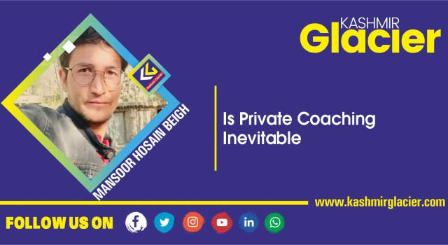Is Private Coaching Inevitable