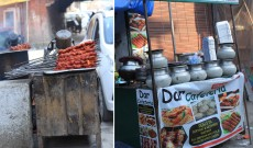 Street Food in Srinagar city of Kashmir
