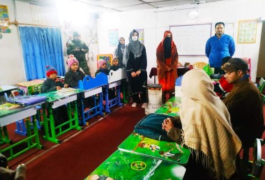 Udhaan School Drugmulla, Wings of hope continues to impart quality education to special needs children of North Kashmir