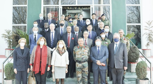 Foreign Heads Of Mission Visited Badami Bagh Cantt Srinagar