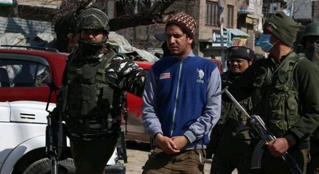 Suspected youth arrested from Barzulla attack site