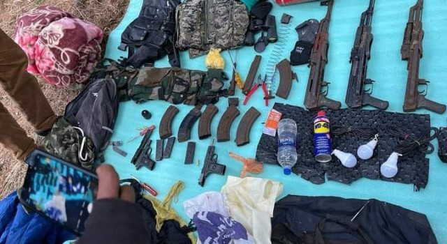 Security forces bust militant hideout in J-K's Anantnag, weapons recovered